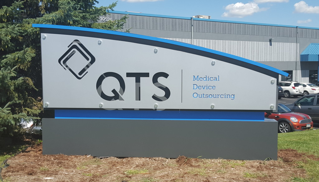 QTS Building Sign