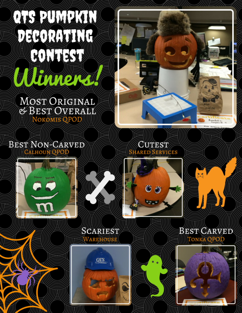 2016 Pumpkin Decorating Contest Winners