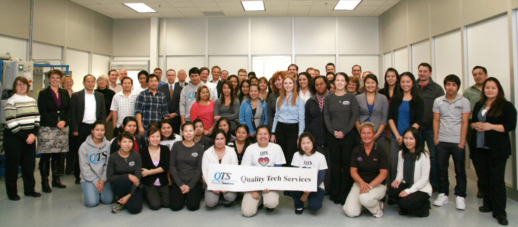 QTS Expansion Group Photo