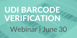 Register for the UDI Barcode Verification