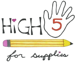 Simon Says Give - High 5 for Supplies