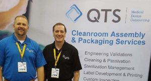 QTS Tradeshow Booth 2016