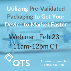 Pre-Validated Packaging Webinar