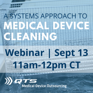 A Systems Approach to Medical Device Cleaning Webinar