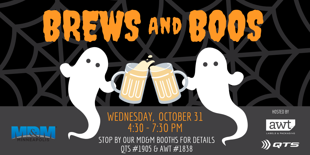 MD&M Happy Hour - Brews and Boos