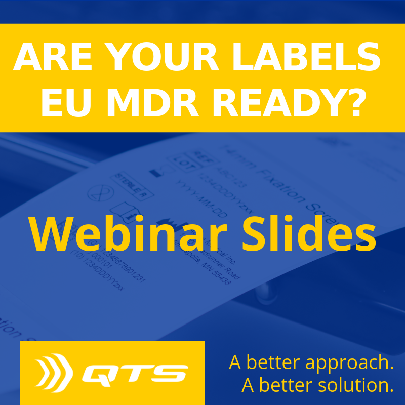 Are Your Labels EU MDR Ready Webinar
